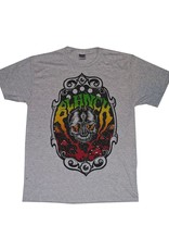 Blanch Blanch Skull Trip T-shirt - Grey (Size X-Large)