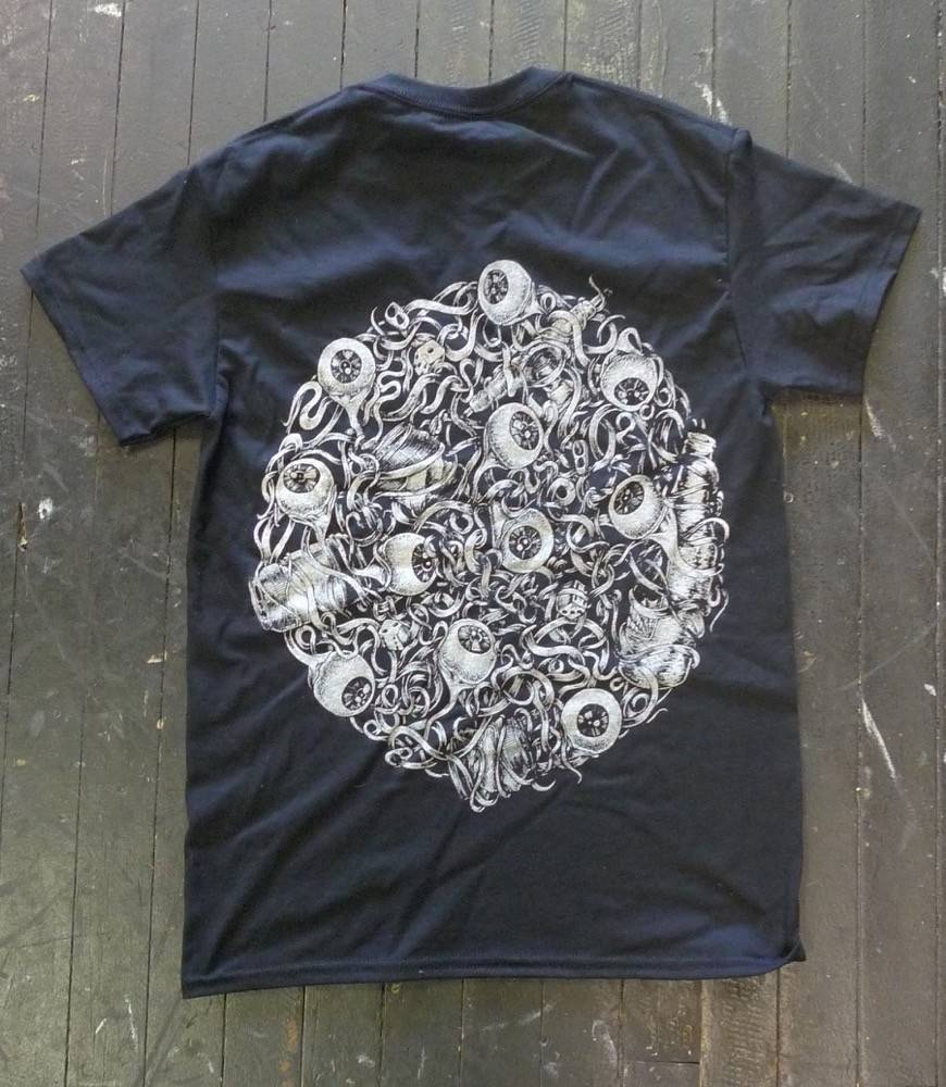 Blanch Blanch Eyeballs T-shirt - Black
