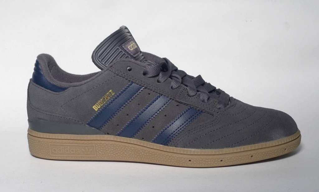 Adidas Adidas Busenitz - Grey/Collegiate Navy/Gum  (size 7 or 7.5)