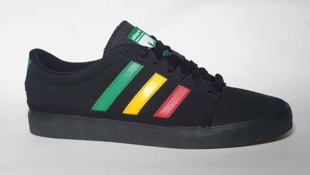 Adidas Adidas Rayado low - Black/Fairway/University Red-Sun  (sizes 9 or 13))