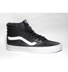 Vans Sk8-hi Reissue Premium Leather - Black/White (size 9.5, 10 or 12)