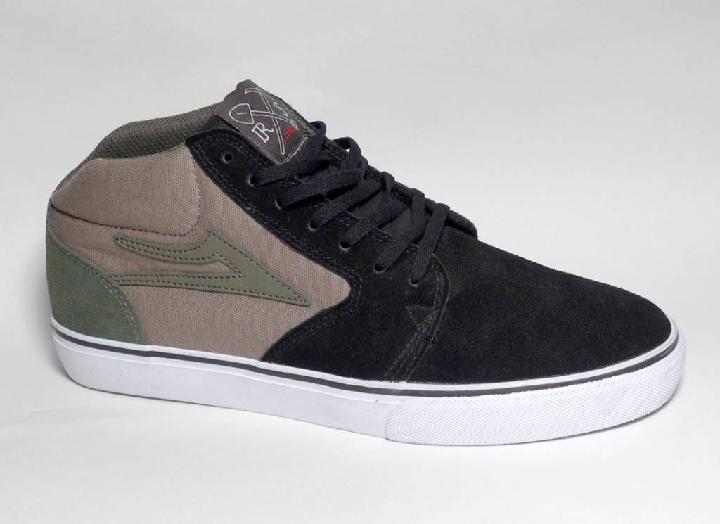 Lakai Lakai Fura High (Ronnie Sandoval) - Black/Walnut (size 9 or 9.5)