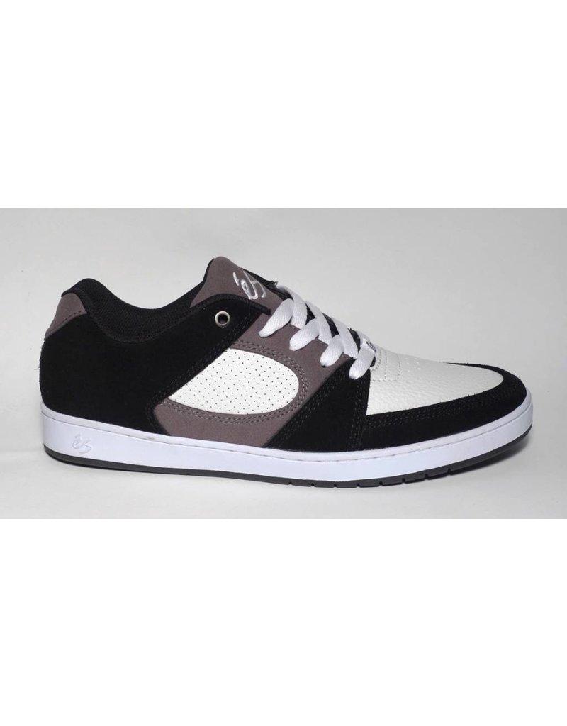 éS éS Accel Slim - Black/White/Grey (size 7)