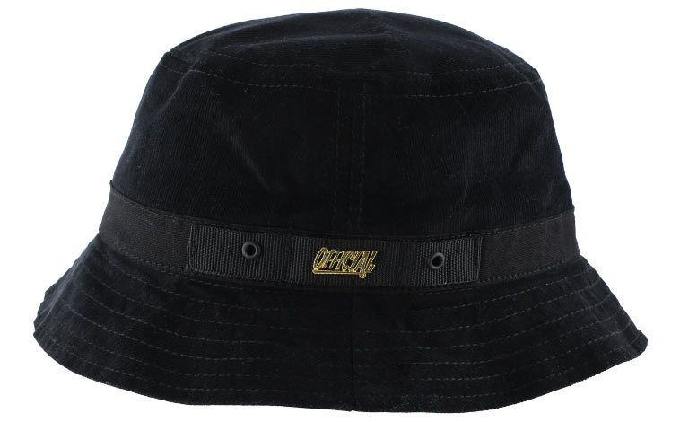 Official Official Miles Buckit Hat Black - Small/Medium