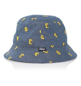 Official Official Quise $ Buckit Hat Blue - Small/Medium