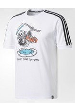 Adidas Adidas Death Jersey - White (size Large)