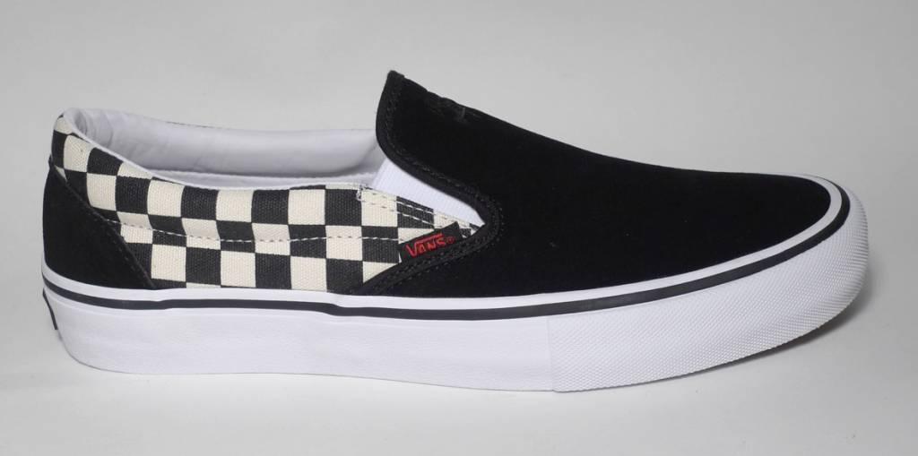 Vans Vans Slip On Pro - (Thrasher) Black Checkerboard (10.5) - FA SKATES fbf32cf78