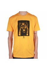 Theories Brand Theories Island Life T-shirt - Gold (size Medium or Large)