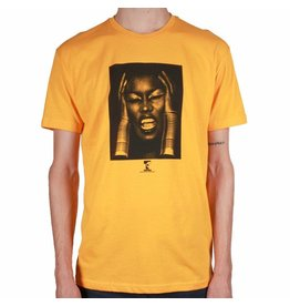 Theories Brand Theories Island Life T-shirt - Gold (size Large)