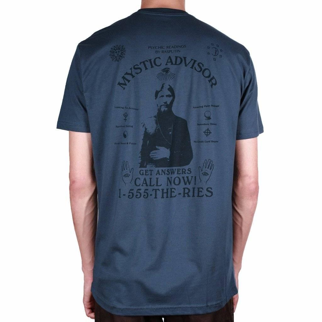 Theories Brand Theories Mystic Advisor T-shirt - Navy/Indigo (Large)