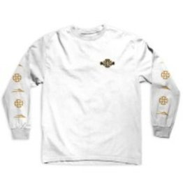 Lakai Lakai x Indy Longsleeve T-shirt - White (size Small or Medium)