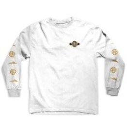Lakai Lakai x Indy Longsleeve T-shirt - White (size Small)