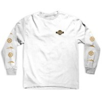 Lakai Lakai x Indy Longsleeve T-shirt - White  (size Small or Medium)