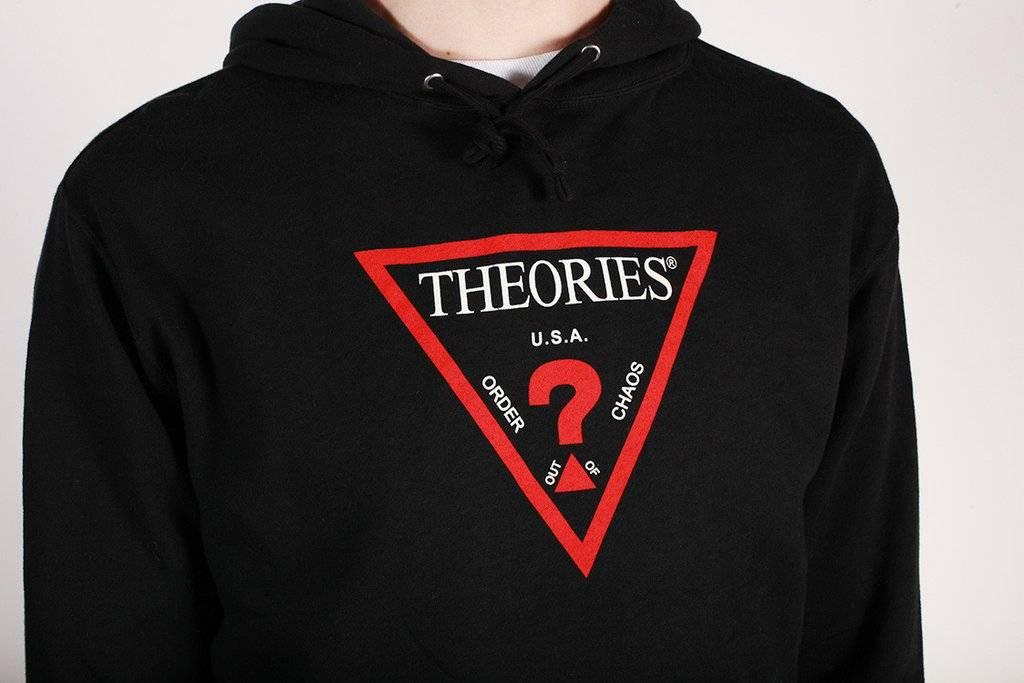 Theories Brand Theories Mysyterian Hoodie - Black (size X-Large)