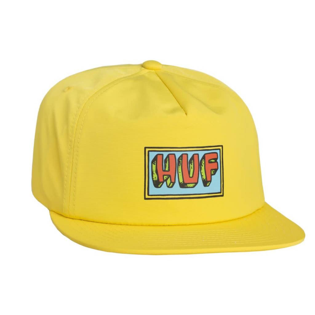 20f7152a2b6 Huf Worldwide Huf Mar Vista Hat - Yellow - FA SKATES