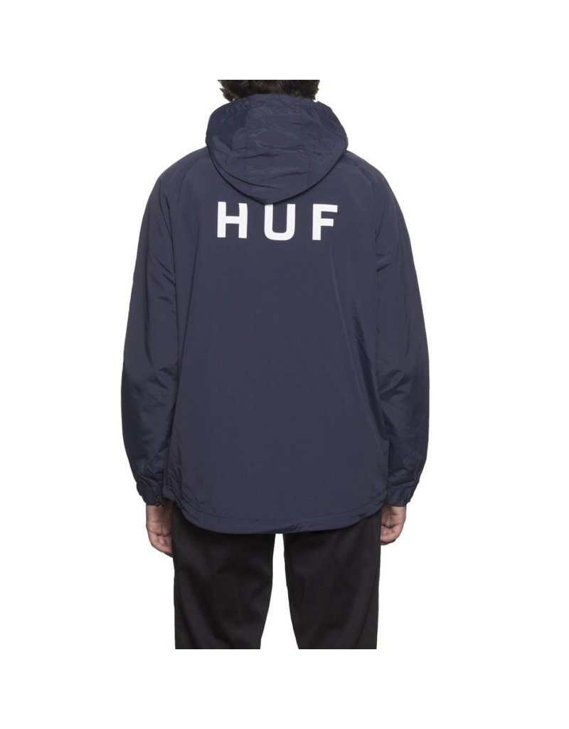 Huf Worldwide Huf Standard Shell Jacket - Navy (size Large)