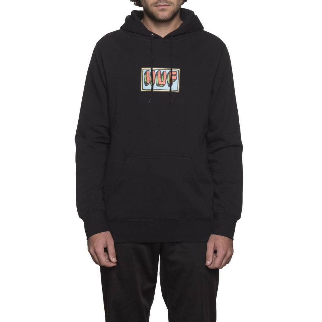 Huf Worldwide Huf Mar Vista Pullover Hoodie - Black