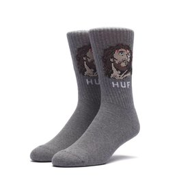 4868acb3617 Huf Worldwide Huf December Dudes Series Sock - Charcoal