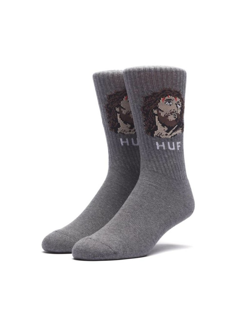 Huf Worldwide Huf December Dudes Series Sock - Charcoal