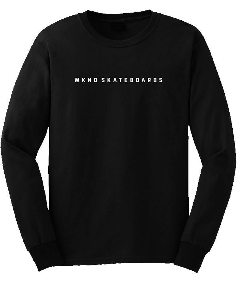 WKND brand Wknd Snakes Longsleeve T-shirt  - Black