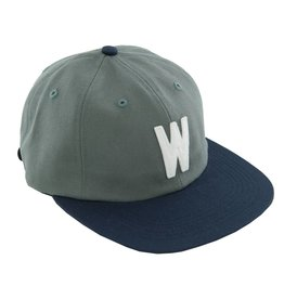 WKND brand WKND W Hat - Steel Gray/Navy