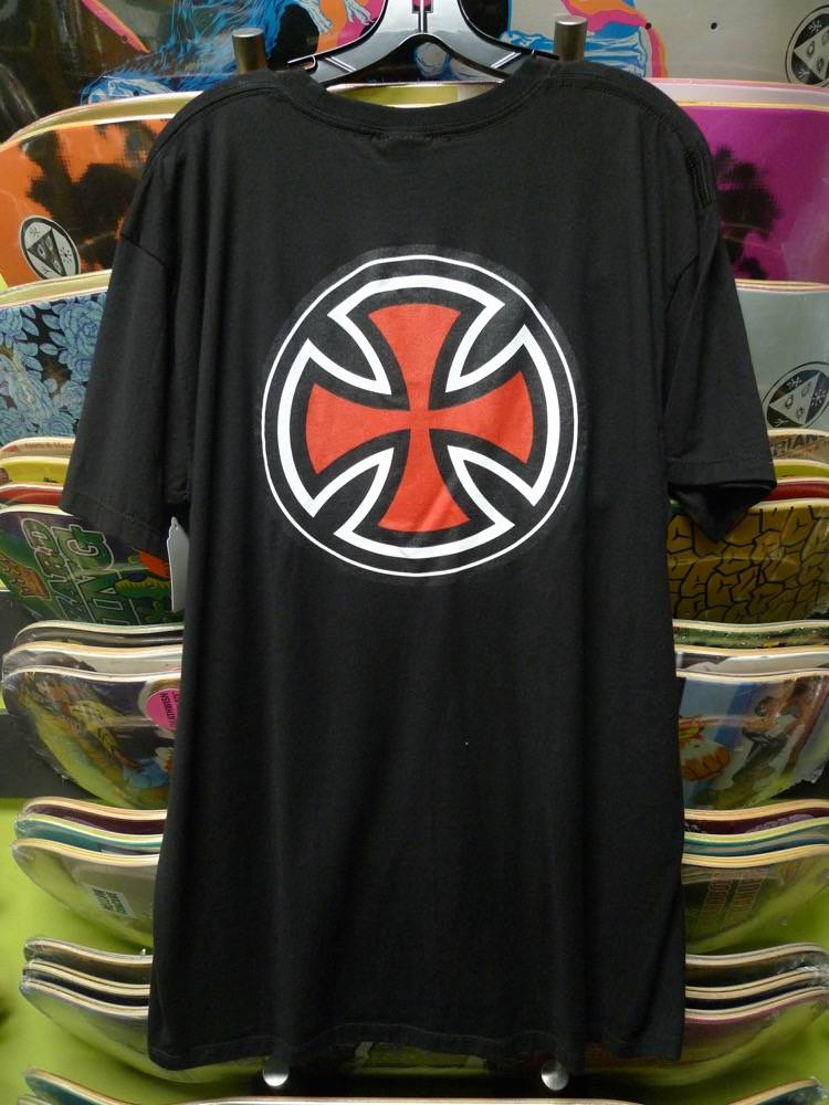 Independent Independent Stripe Logo T-shirt - X-Large