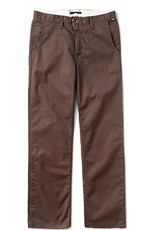 Vans Vans Mens Authentic Stretch Chino (Modern Fit) -  Brown