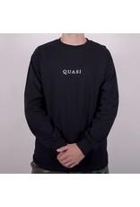 Quasi Quasi Logos LongsleeveT-shirt - Black (size Small or X-Larg