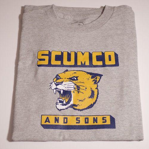 Scumco & Sons Scumco & Sons Panther Power T-shirt - Ahtletic Grey (size Medium)