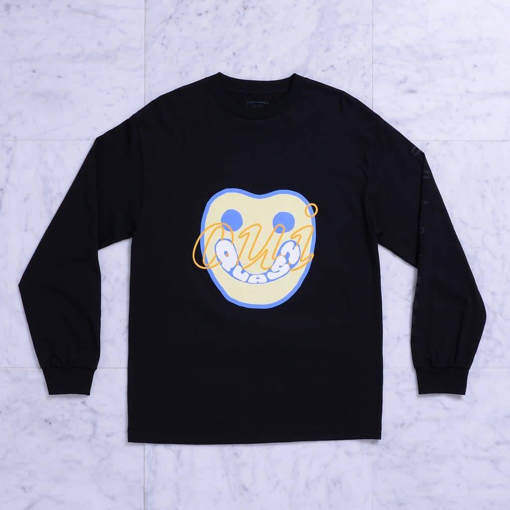 Quasi Quasi Yes LongsleeveT-shirt - Black (size Large)