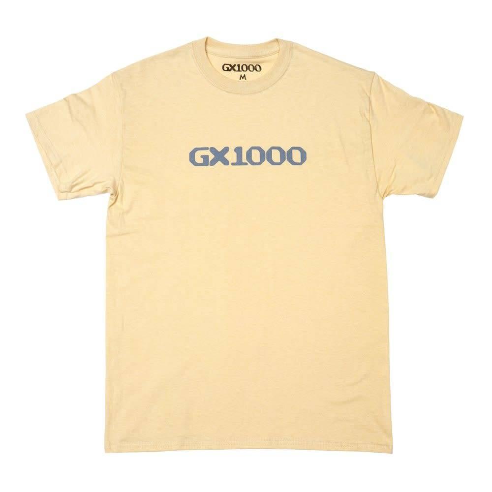 GX1000 GX1000 OG Logo T-shirt - Vegas Gold