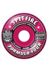 Spitfire Spitfire Formula Four Classic Pink 52mm 99d wheels (set of 4)