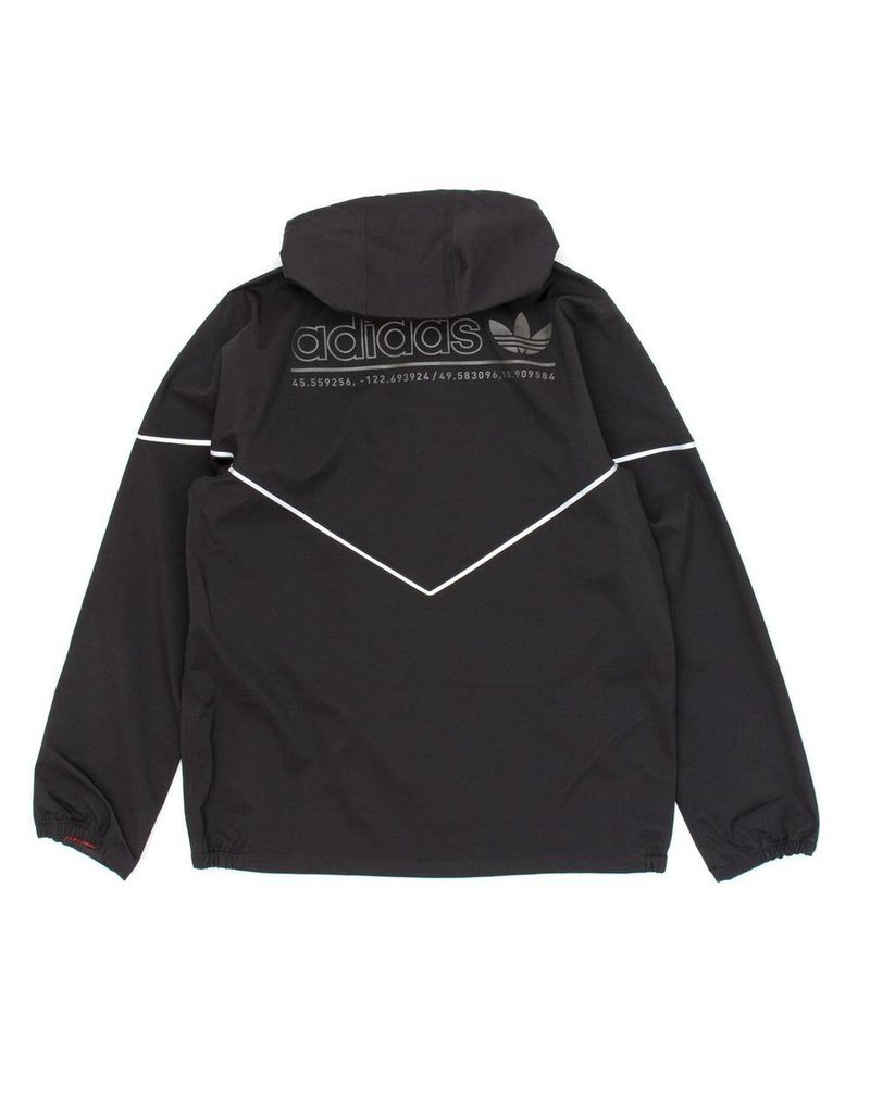 Adidas Adidas 3L Premiere Jacket - Black/Reflect (size Medium or Large)