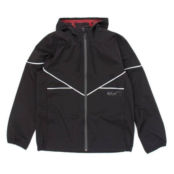 Adidas Adidas 3L Premiere Jacket - Black/Reflect (size Medium or Large)