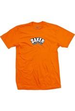 Baker Baker Arch Logo T-shirt - Orange