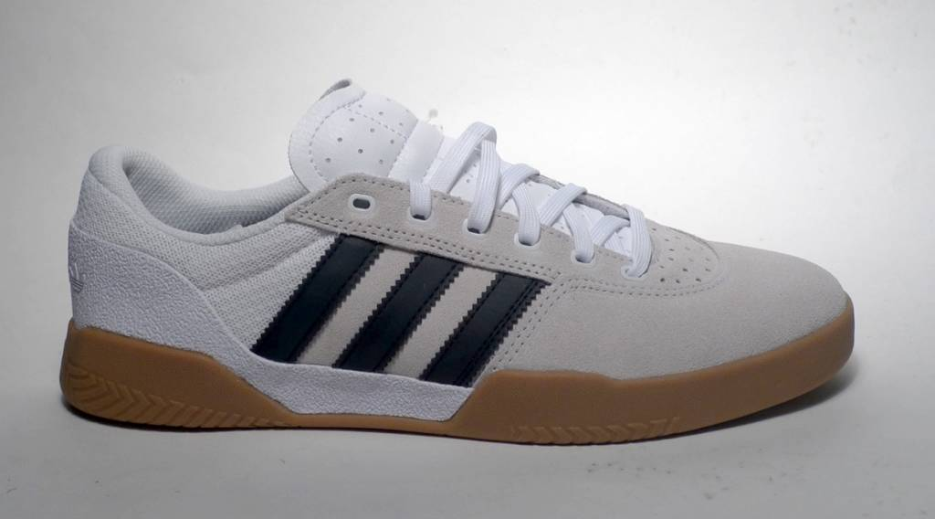 Adidas Adidas City Cup - White/Black/Gum (size 10 or 11.5)