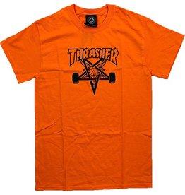 Thrasher Mag Thrasher Skategoat T-shirt - Orange (Size Medium)