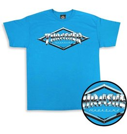 Thrasher Mag Thrasher Diamond Emblem T-shirt - Sapphire (size Medium)
