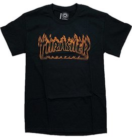 Thrasher Mag Thrasher Richter T-shirt - Black