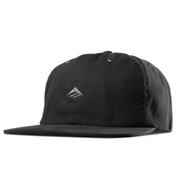 Emerica Emerica Try Strapback Hat - Black