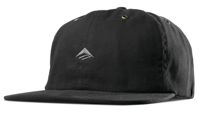Emerica Emerica Try Strapback Hat - Black