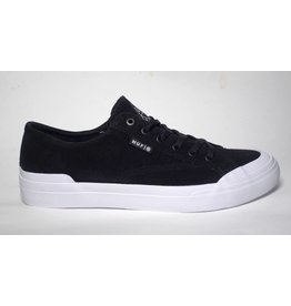Huf Worldwide Huf Classic Lo (Suede) - Black/White