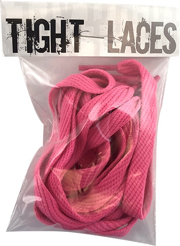 """Tight Laces Tight Laces flat 45"""" - Hot Pink"""
