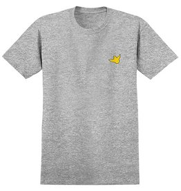 Krooked Krooked Fly Strait T-shirt - Athletic Heather/Yellow