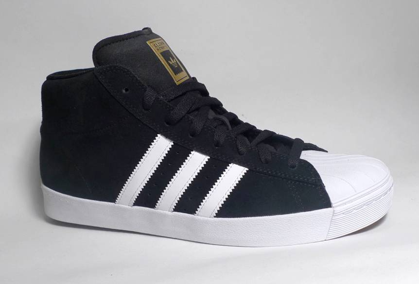 94085a8c44 Adidas Pro Model Vulc ADV - Black/White/Gold