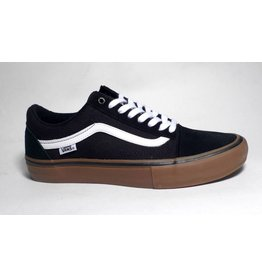 Vans Vans Youth Old Skool Pro - Black/White/Medium Gum (size 3.5, 4 or 5)