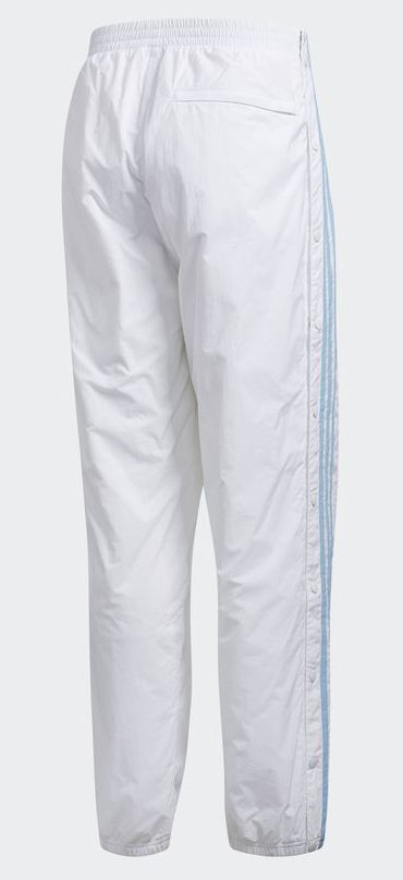 cffa9dcc16a Adidas x Krooked Track Pants - White Clear Blue - FA SKATES