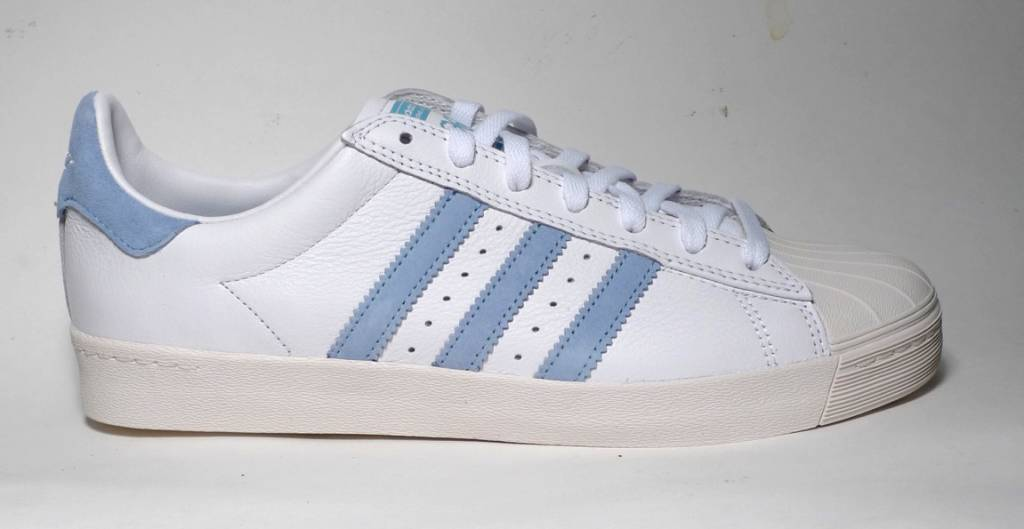 cheaper b8ef1 6a0c6 Adidas Superstar Vulc x Krooked - Cloud White Customized Chalk White