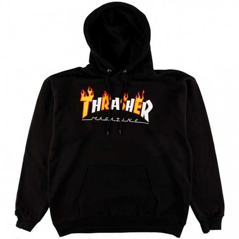 Thrasher Flame Mag Logo Hoodie - Black - FA SKATES fb6c97d76