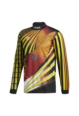 Adidas Adidas Na-Kel Jersey - Black/Yellow/Bright Orange/Red (size Medium or X-Large)